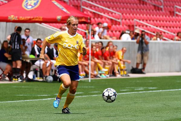 Real Salt Lake Women vs St. George United 7-3-2013