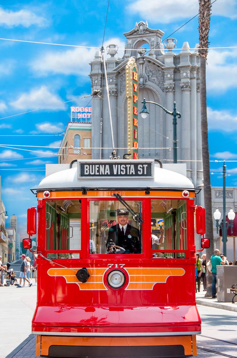 Disney California Adventure Trolley