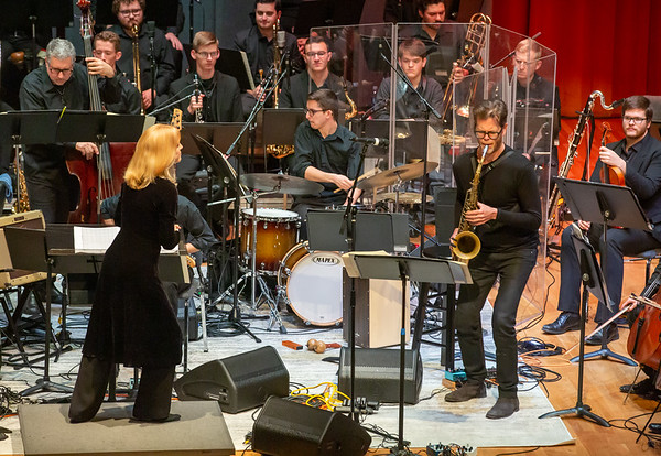 Jazz Master Maria Schneider debuts with Special Guest, Donny McCaslin - January 26, 2020