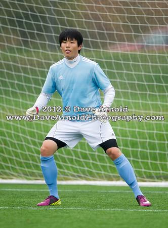 10/3/2012 - Boys Varsity Soccer - Governor's Academy vs St. Sebastian's