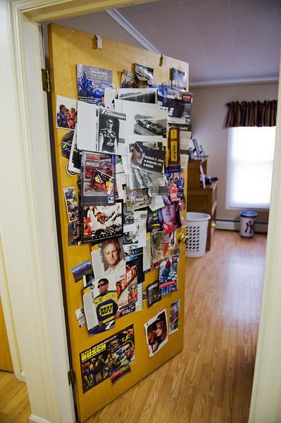 The doorway to Michael's room.