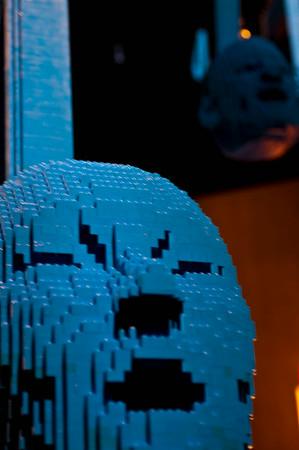 The Art of the Brick- Art of Nathan Sawaya