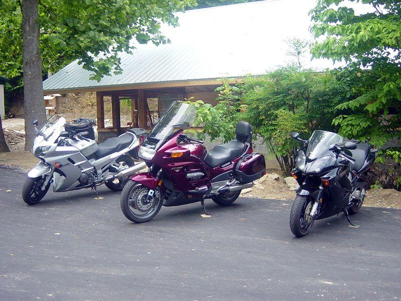 Scenes from the Motorcycle resort below the Gap.