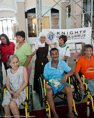 Wheelchair Distribution at San Francisco Church