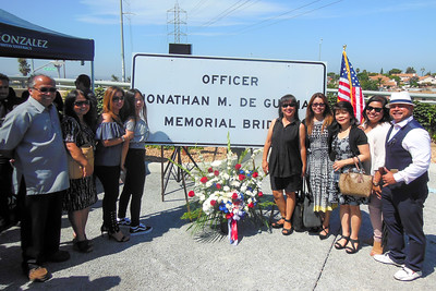 Johnathan DeGuzman Memorial Bridge Dedication