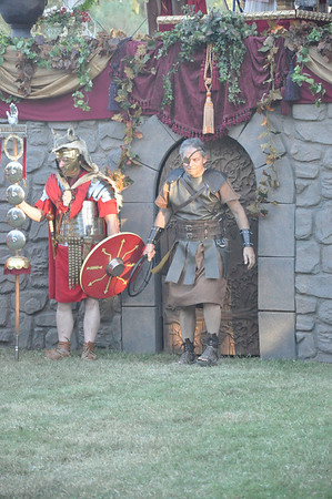 Gladius Evening Show:  Combat to Honour Caesar 9 October 2010