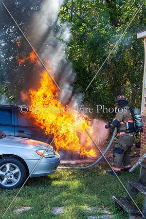 20190925 - Unincorporated Mount Juliet - Vehicle Fire