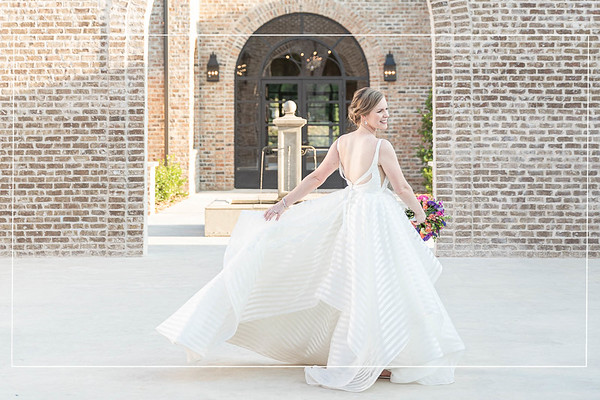 Spectacular Summer Bridal Session at the Incredible Iron Manor in Montgomery Texas