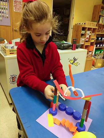 Kindergarten - Calder-inspired Circus Sculptures