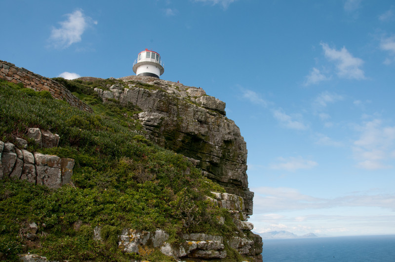 Lighthouse in Cape Point, South Africa