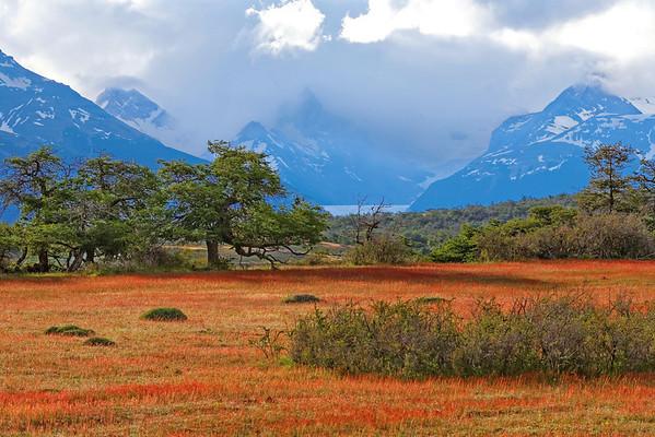 Vers l'Estancia Nibepo - Prairie rouge