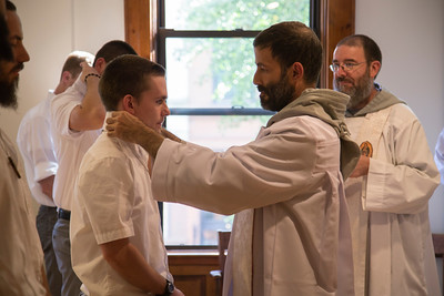 Reception of Postulants 2017