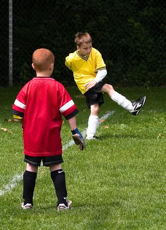 Spring Soccer, June 2005