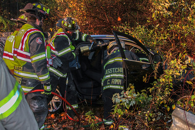 10-27-16 MVA With Extrication, Sprout Brook Road, Photos By Bob Rimm