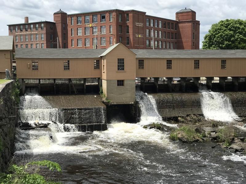 Swamp Locks Gatehouse ~ Lowell, MA