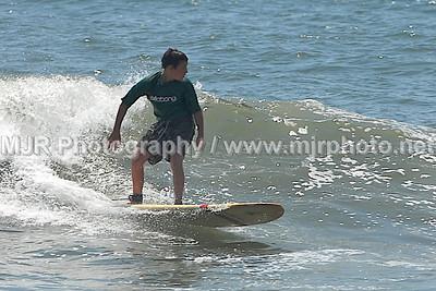 Surfing, Gilgo Beach, NY,  (6-17-07)