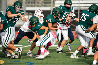 2019-09-27 Poway Titans Vs Tesoro JV Football