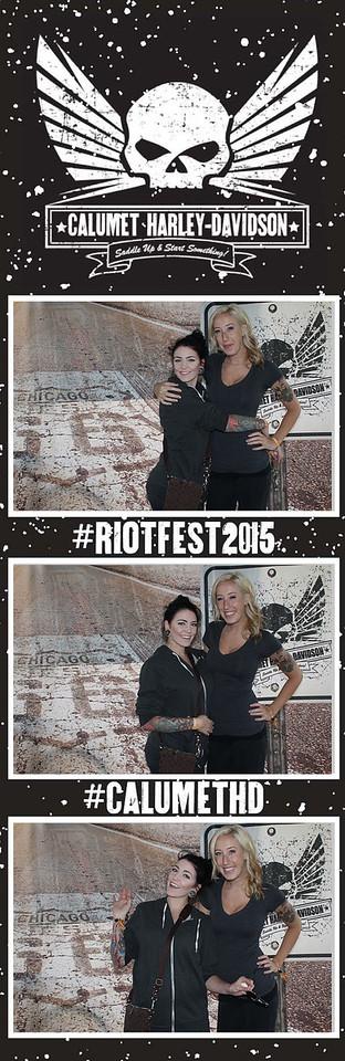 Calumet Harley Riot Fest Day 1
