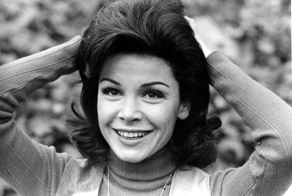 """. Annette Funicello is shown at her home in Encino, Ca., March 13, 1978.  Funicello, 34, was discovered at age 12 to become the 24th and last Mousketeer chosen for the 1950s television show \""""Mickey Mouse Club.\""""  (AP Photo)"""