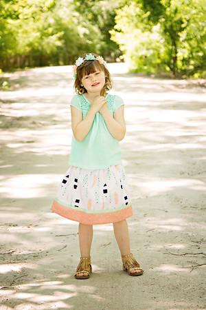 Wicked Cute Kidz feather skirt