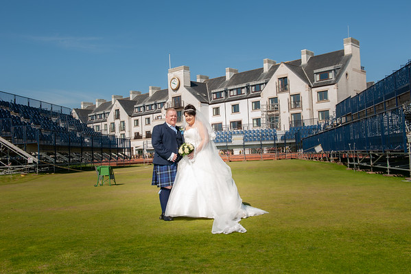 Cara & Euan- Arbroath Old and Abbey Church - Carnoustie  Golf Hotel