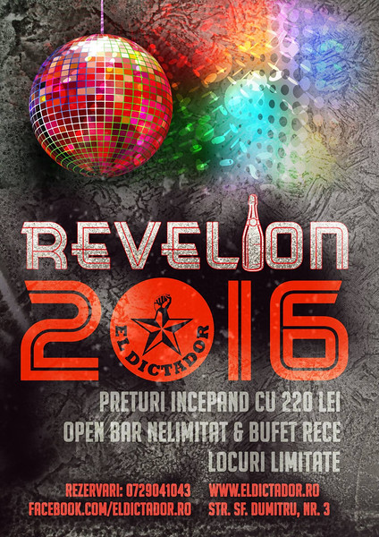 Afis Revelion 2016