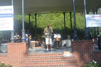 2019-08-02 Robert Kimbrough Sr, Lightnin Malcolm and RL Boyce Live at Senatobia MS