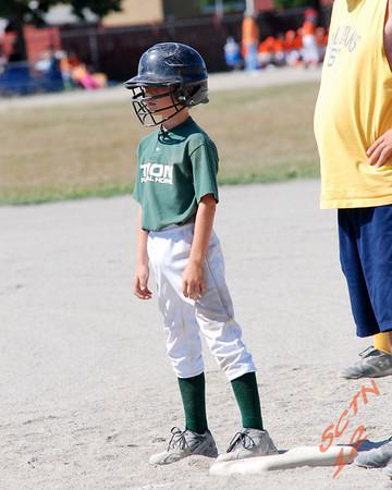 Wyandotte Baseball Sunday 7-15-07 Game One