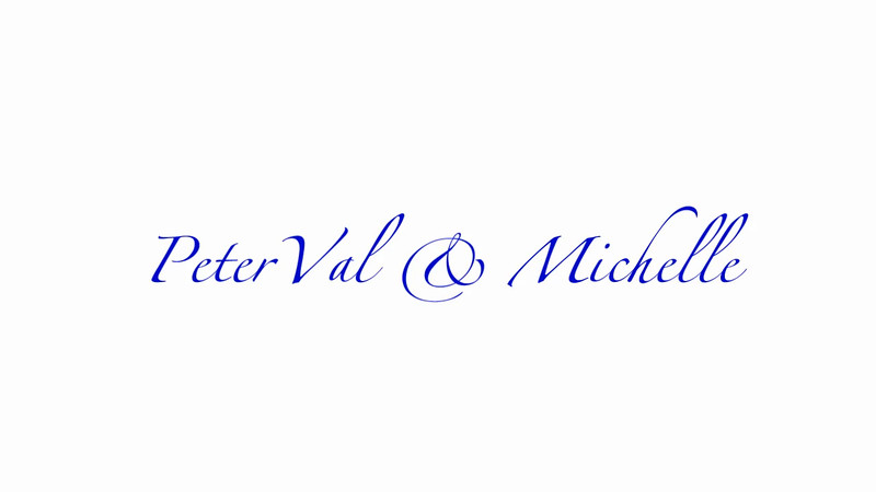 Michelle Huckabee and Peter Val Peralta Wedding