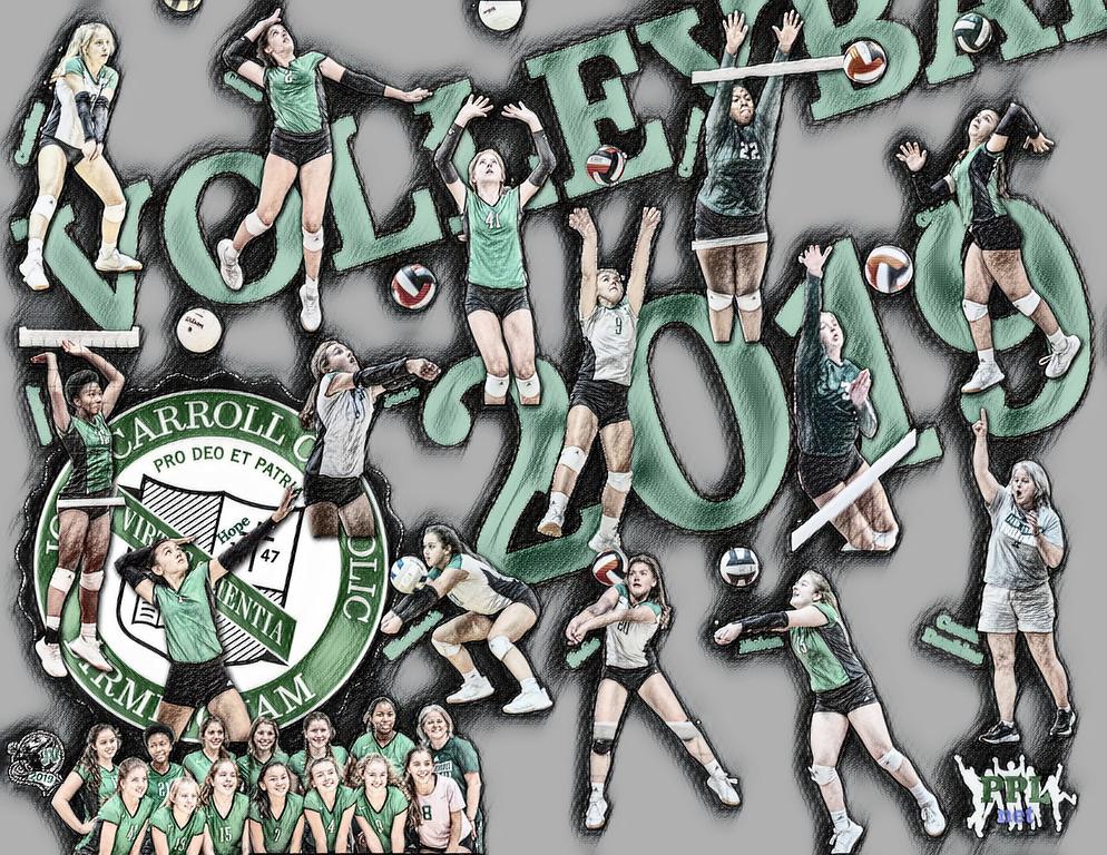 🏐 JV Team Poster