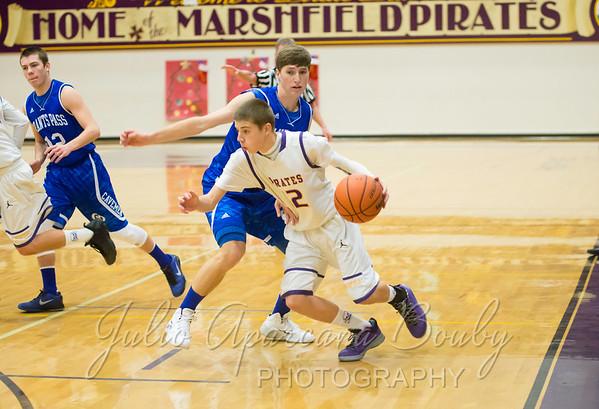 131217 MHS Boys Basketball vs Grants Pass