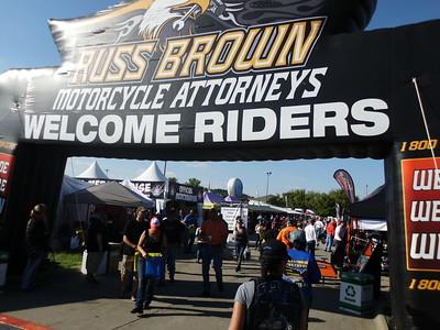 Biker, Blues & BBQ Fayetteville,  AR