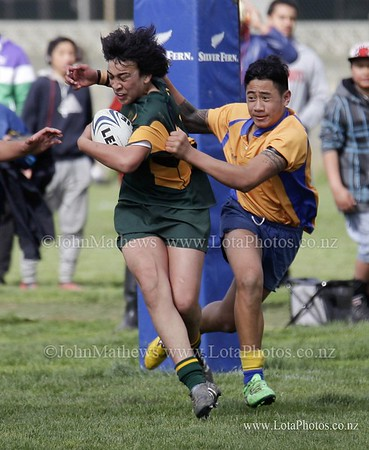jm20120825 Rugby - U14 Final - Rongotai v Mana _MG_0154 b WM