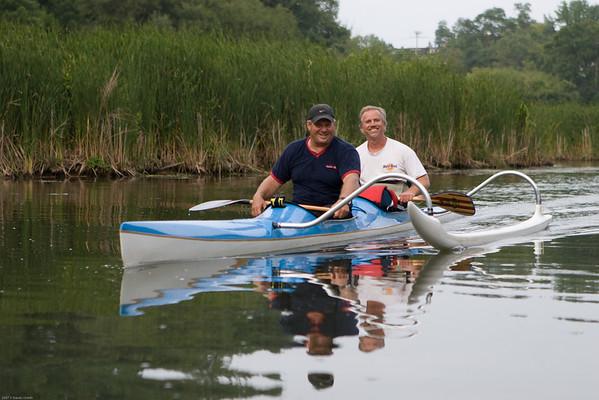 Wayne & Rich on 16 Mile Creek
