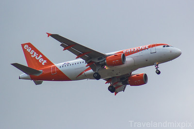 Airbus A319's of easyJet Europe