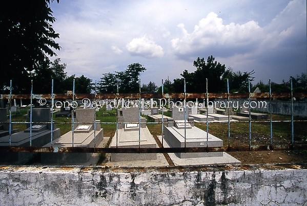 INDONESIA, Surabaya. Jewish Cemetery (2007)