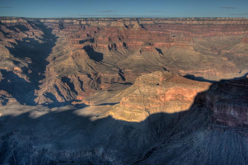 Panorama of Grand Canyon National Park in Arizona, USA