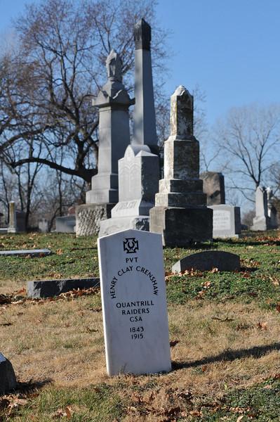 Elmwood Cemetery in Kansas City, Mo.
