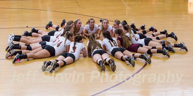 2015-2016 Varsity Girls Volleyball