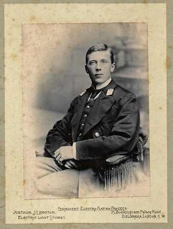 EGW.Davidson as a Midshipman.