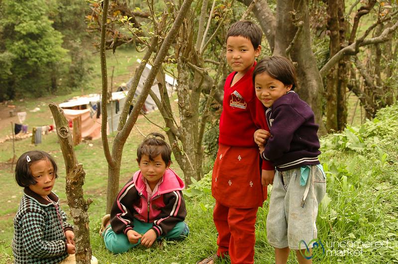 School Kids Outside of Pelling, Sikkim