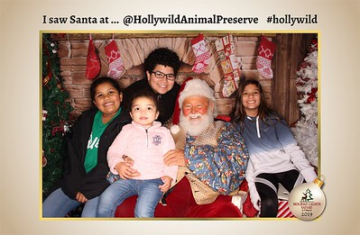 Hollywild Santa Photos - 121719