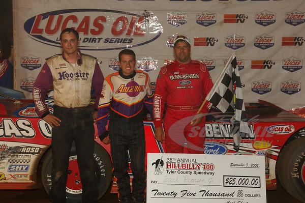 Tyler County Speedway (WV) 9/3