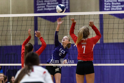 Volleyball (JH) vs Moore, August 2