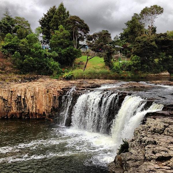 Kicking off the morning at Haruru Falls #waterfallporn #gadv #dna2nz