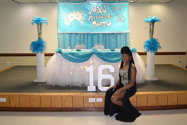 Alexus' Sweet 16 Masquerade Party