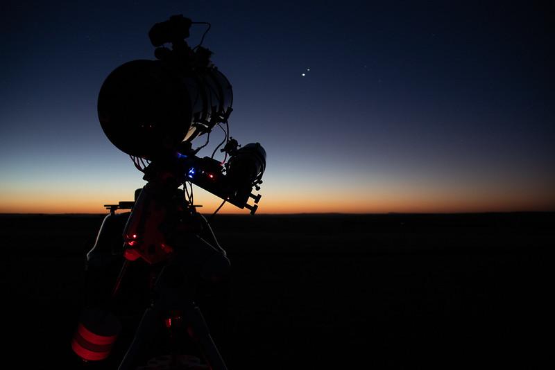 Imaging Jupiter and Saturn Conjunction - 14/12/2020