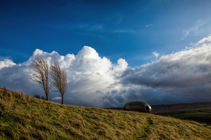 The Atom Panopticon, Wycoller, Lancashire.
