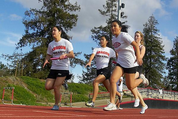 Aragon vs. Gunn High School Track Meet