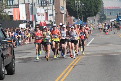 Men at 9.1 Mile Mark